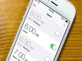 Cбивается время на iPhone