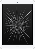 Разбито стекло iPad