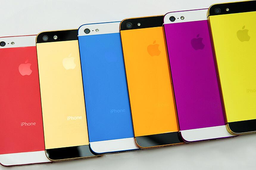 Цветной iPhone