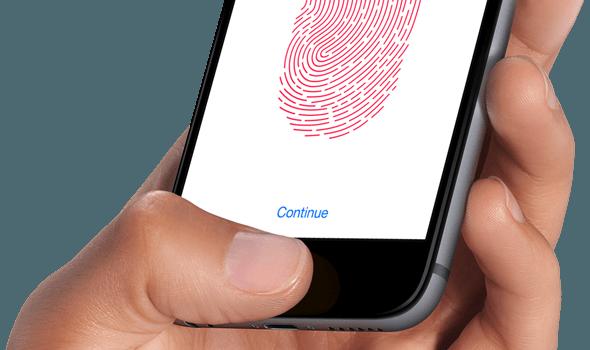Не работает Touch ID?